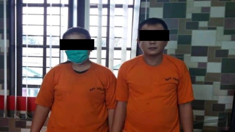 Jadi Agen Togel, Pasutri Ditangkap Polisi Binjai Utara