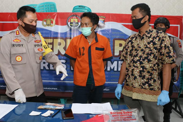 Pemuda di Kebumen Ditangkap Polisi Usai Dilaporkan Polisi Karena Judi Togel